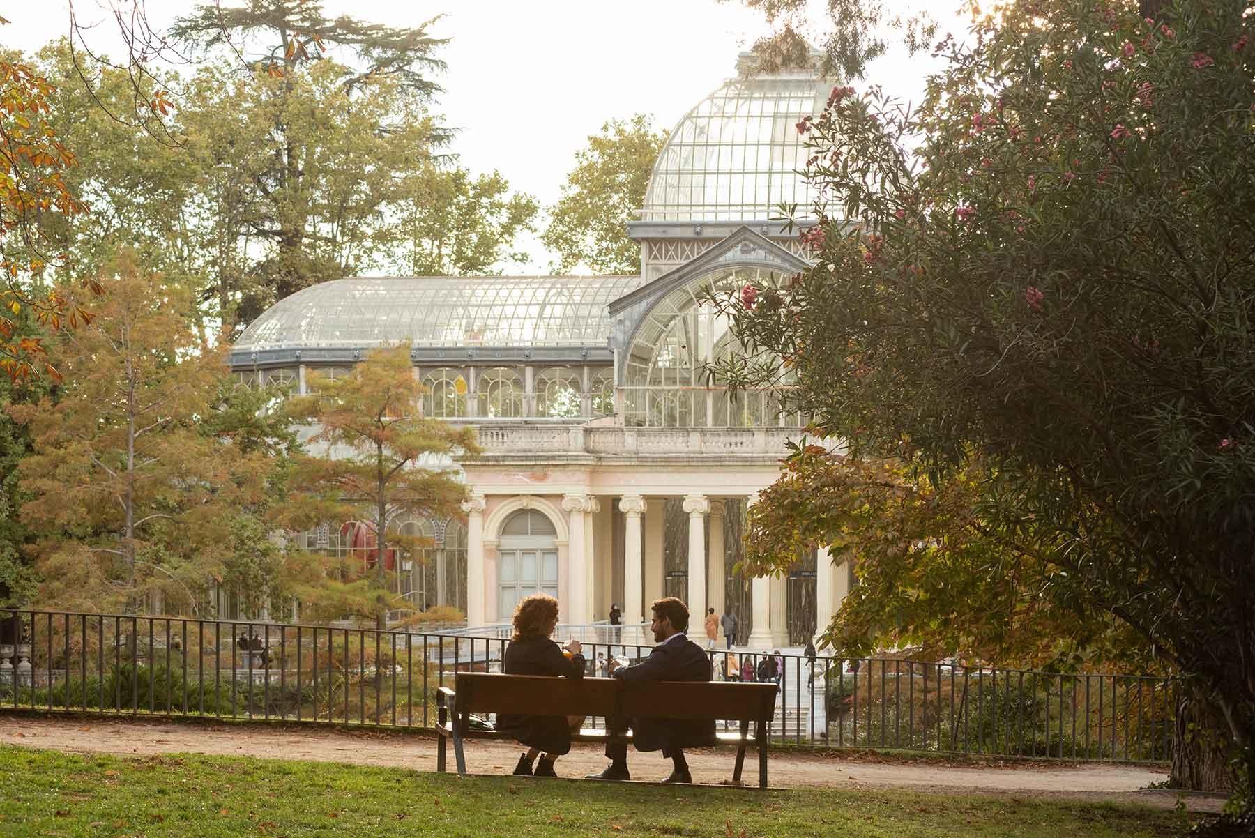 Осенний Мадрид во втором сезоне сериала «Валерия»