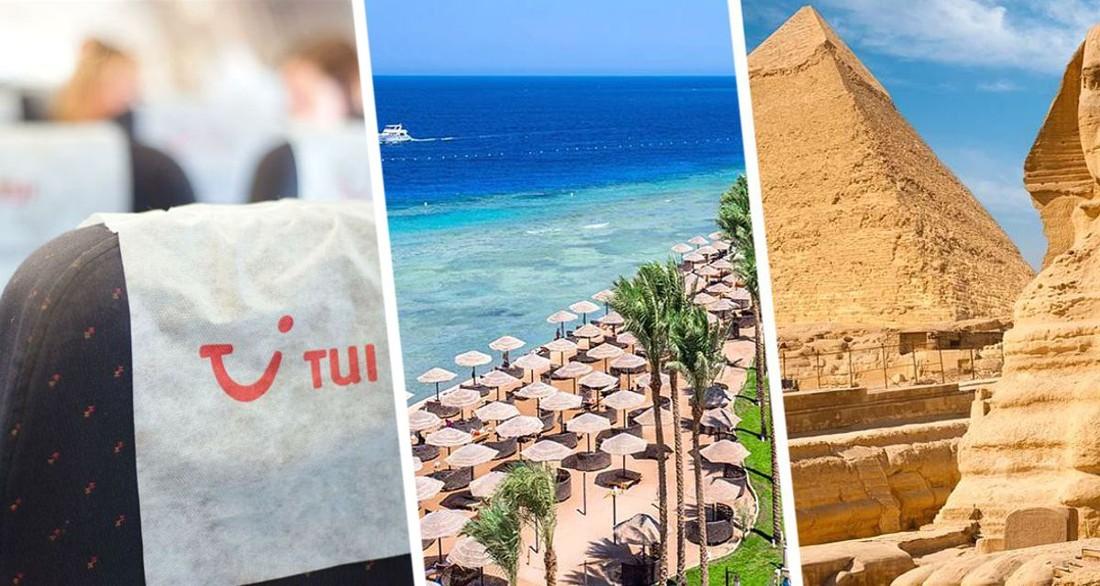 TUI открыл продажи туров на курорты Египта: объявлено расписание вылетов в Хургаду и Шарм-эль-Шейх