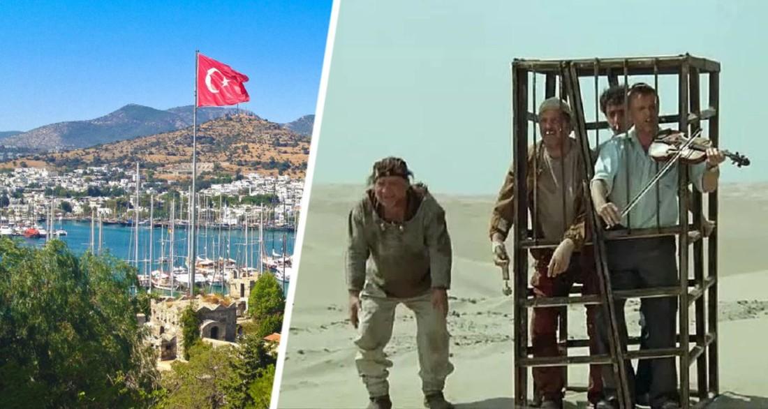 После отдыха в Турции туриста посадили в клетку и увезли в обсерватор