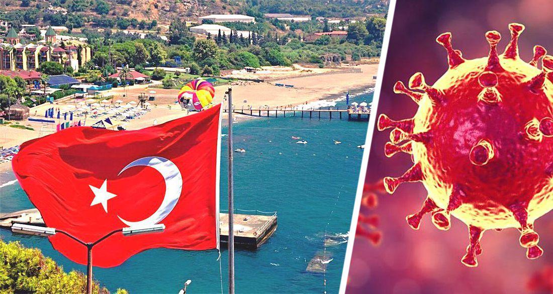 На курортах Турции наблюдается рост коронавируса