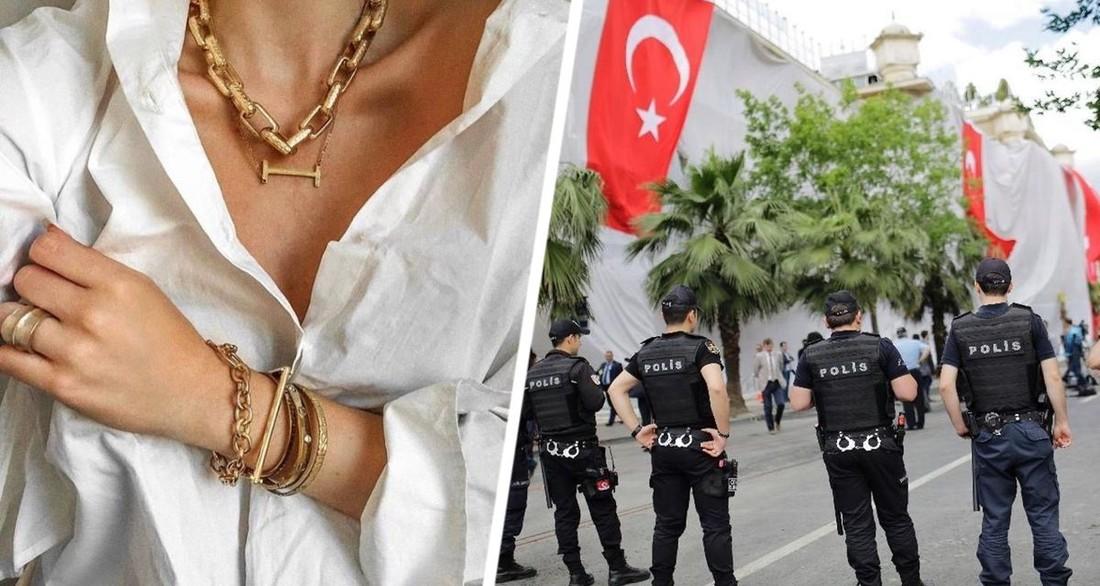 Российская туристка в Турции испытала шок: ее дерзко ограбили, сорвав с шеи золотую цепь