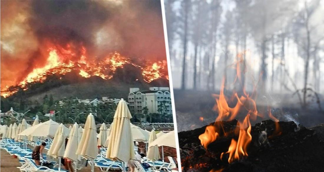 Турция разрушена «как Хиросима»: всюду гарь и пепел, оборона курортов от огня продолжается