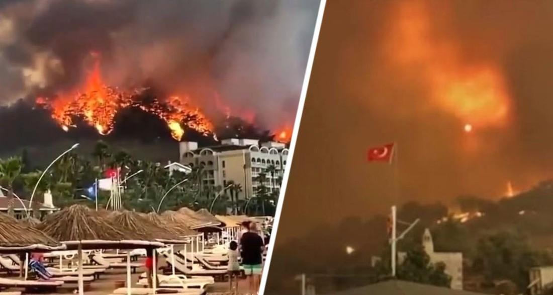 Пожары навредят туризму Турции на несколько лет вперед - Совет турецких отельеров