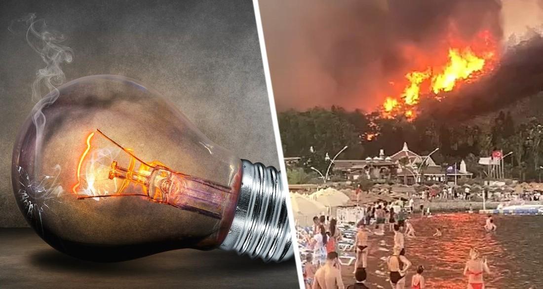 Курорты Турции могут остаться без электричества: на помощь мобилизована армия