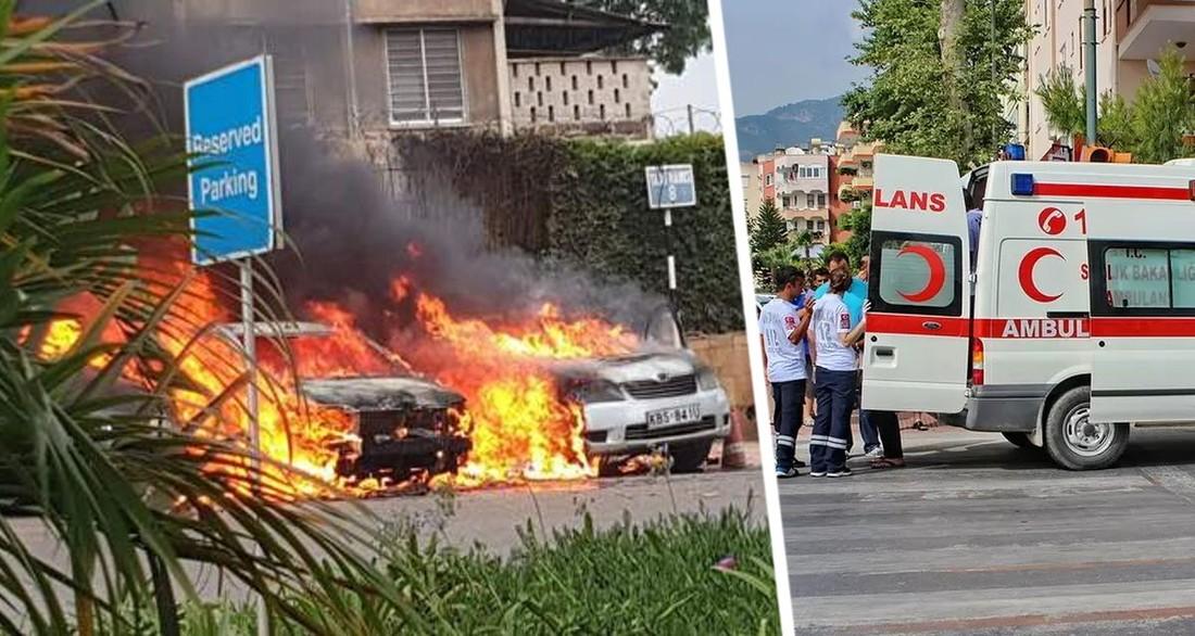 На турецком курорте взорвался отель, погибли люди