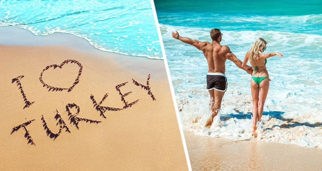 Турция определила 5 самых красивых пляжей на своем Средиземноморье