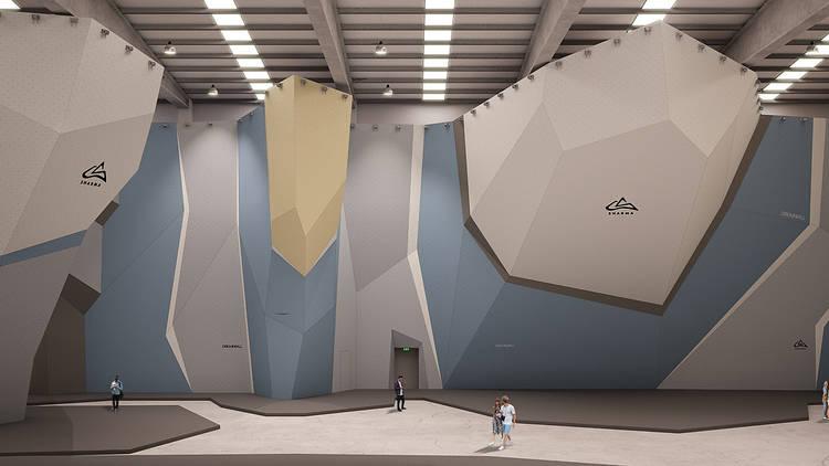 В Барселоне откроется крупнейший в Испании скалодром