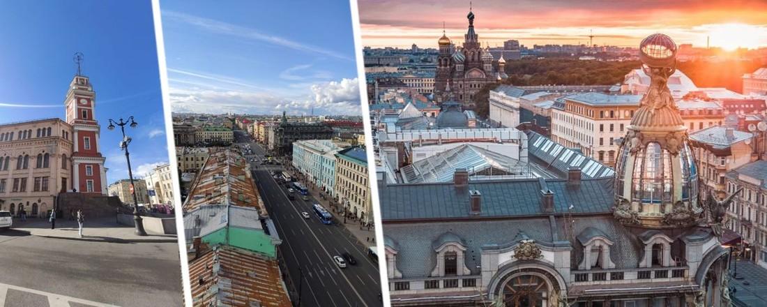 Петербург сверху: ТОП смотровых площадок для туристов