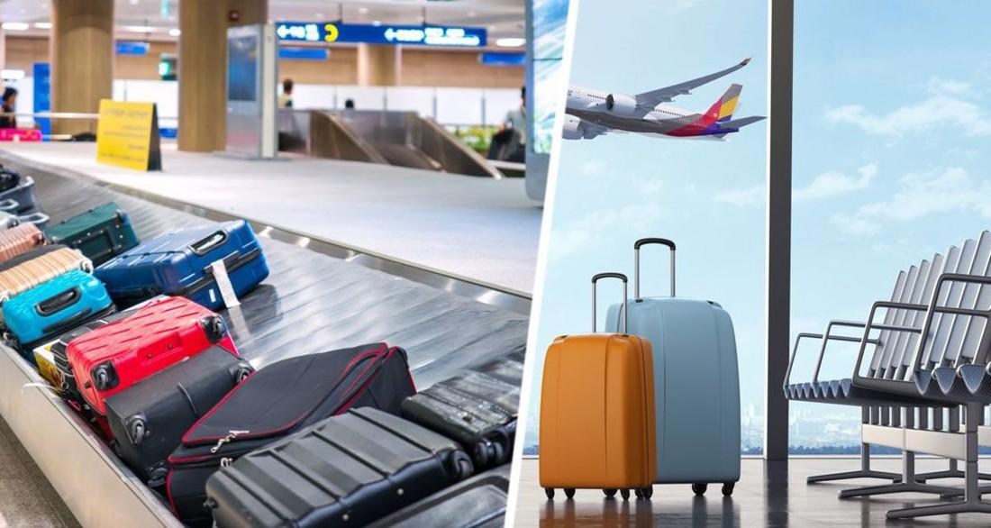 Рассказано, как ни в коем случае нельзя помечать свой чемодан, сдавая в багаж в самолете