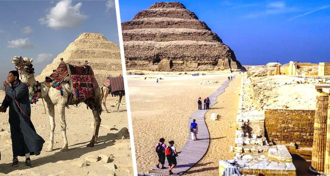 Египет открыл для туристов пирамиду Джосера