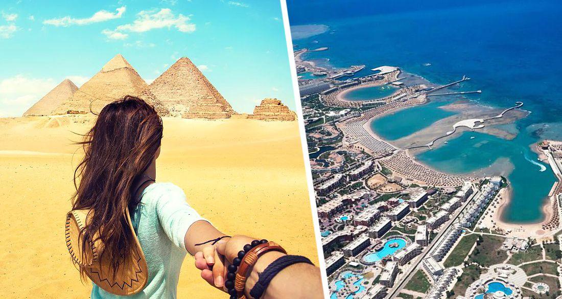 В Египте для туристов построят два новых города-курорта