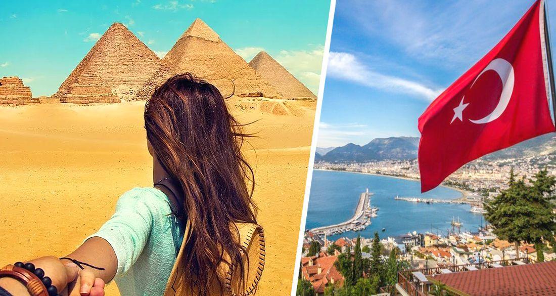 Египет пригласил российских туристов, отвергнутых Турцией