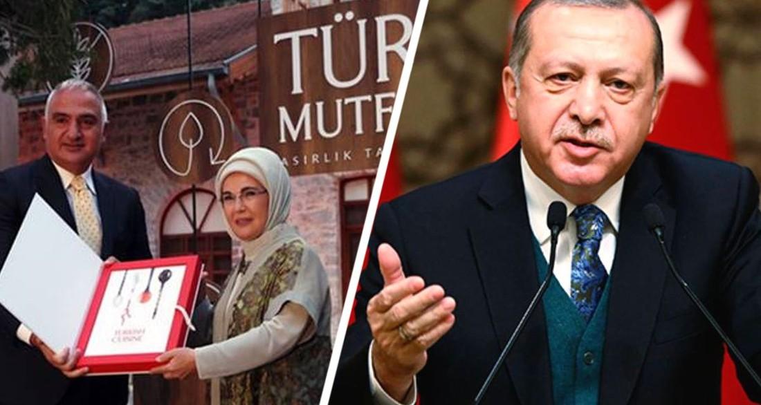В Турции вокруг жены Эрдогана и туристических чиновников разгорелся скандал