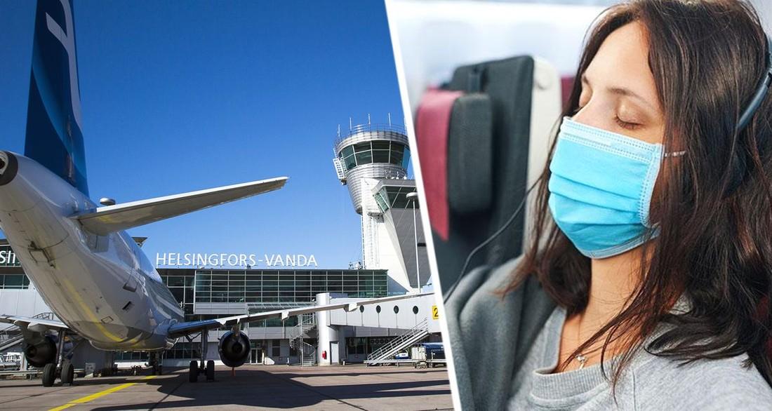 Финские власти обязали туристов снимать маски только в двух случаях
