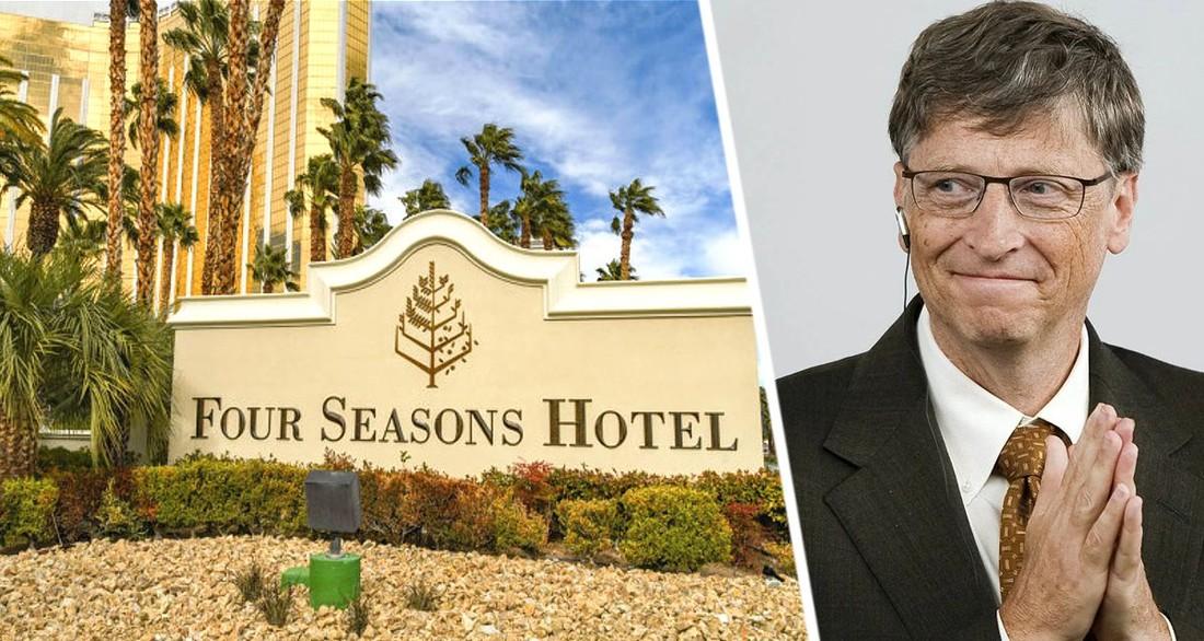 Доверие к туризму богатых возвращается: Билл Гейтс купил сеть люксовых отелей отелей Four Seasons