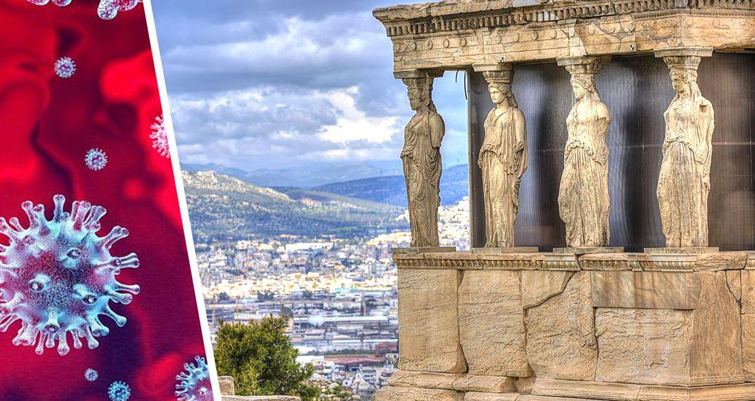Греция обновила ограничения для туристов