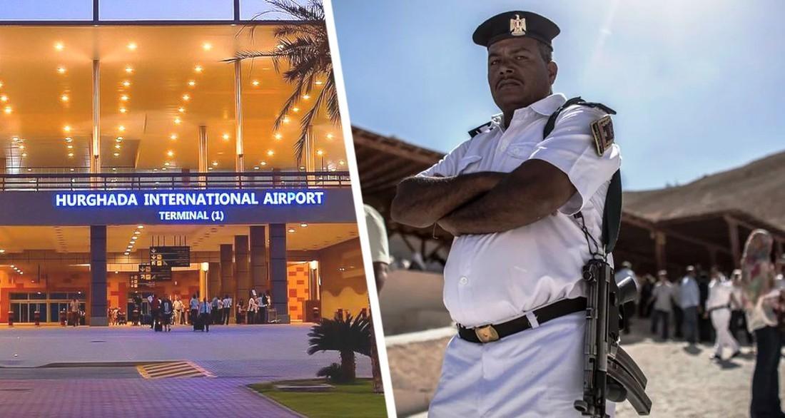 В Хургаде арестован российский турист за попытку провоза наркотиков на рейсе через Турцию