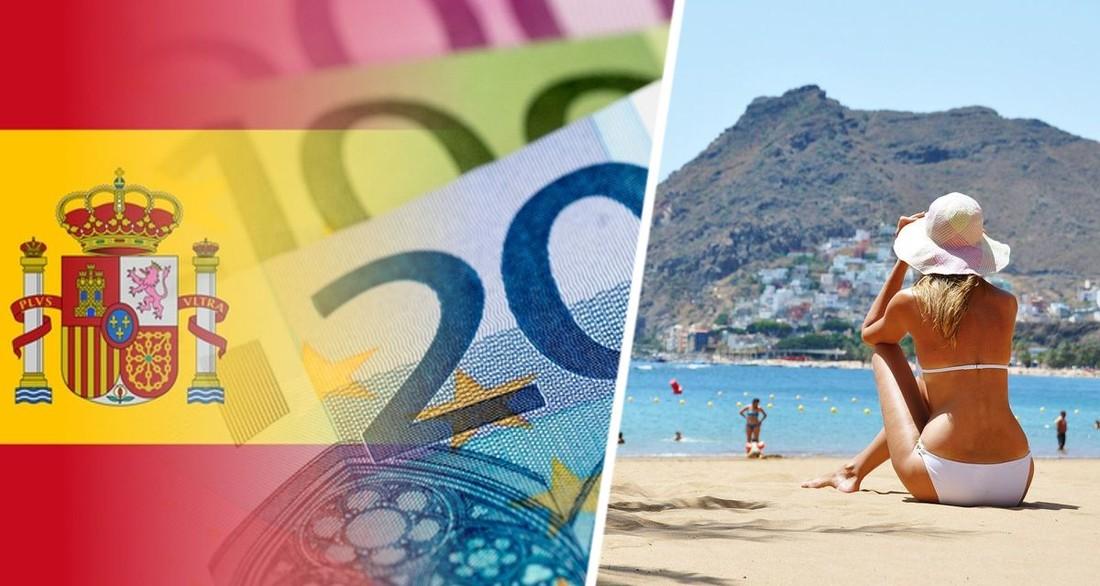 В Испании туристам начали раздавать по 250 евро в виде купонов