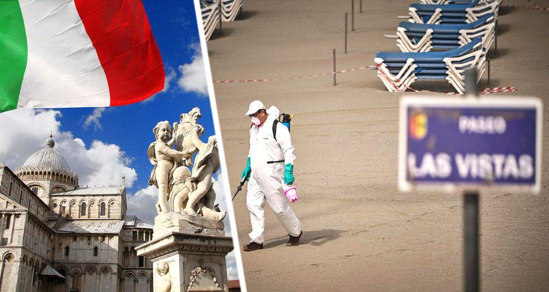 На пляжах Италии выявлять больных ковидом будут с помощью дронов: туристов с температурой увезет медбригада