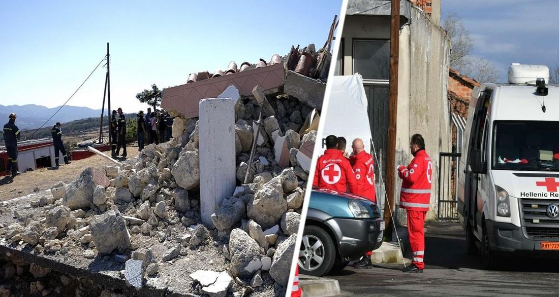 Туристы в панике выбегали из отелей: на Крите произошло сильное землетрясение