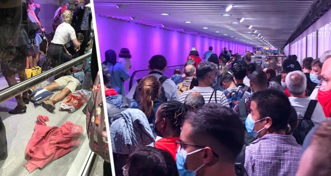 Ад и хаос: в крупнейшем аэропорту образовались очереди из туристов на 5 часов