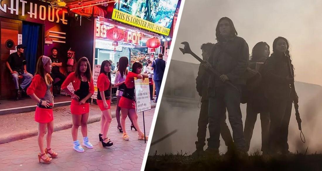 Улицы Паттайи сравнили с зомби-апокалипсисом «Ходячие мертвецы»: отели будут переходить за долги иностранным кредиторам