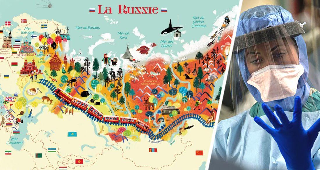 Россиянам представили полный список регионов РФ с обновленными ограничениями по коронавирусу