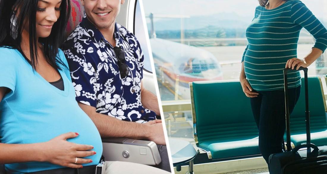 Беременным россиянкам рассказали о рисках путешествия на самолетах