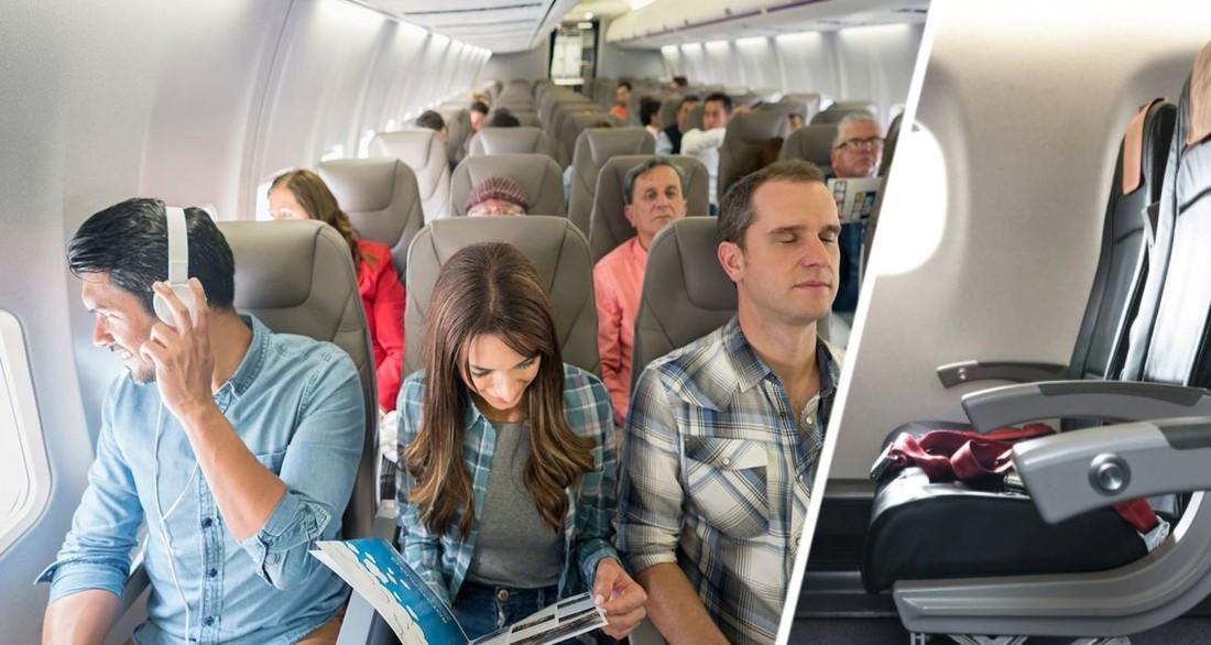 Битва за место: стюардесса рассказала, кому из туристов принадлежат подлокотники среднего ряда