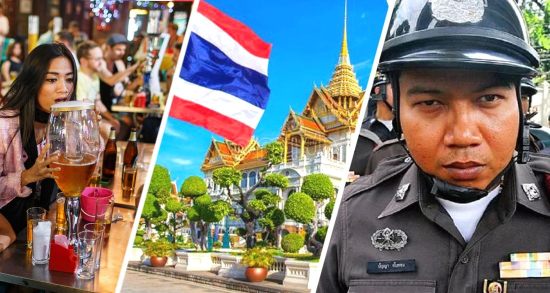 В Таиланде 13 иностранных туристов арестованы за употребление алкоголя под видом кофе и игру на бильярде