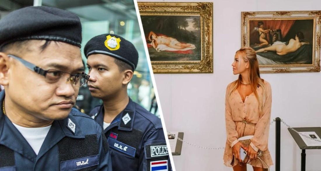 В Таиланде арестованы трое российских туристов: их обвиняют в краже картины стоимостью 112 млн рублей