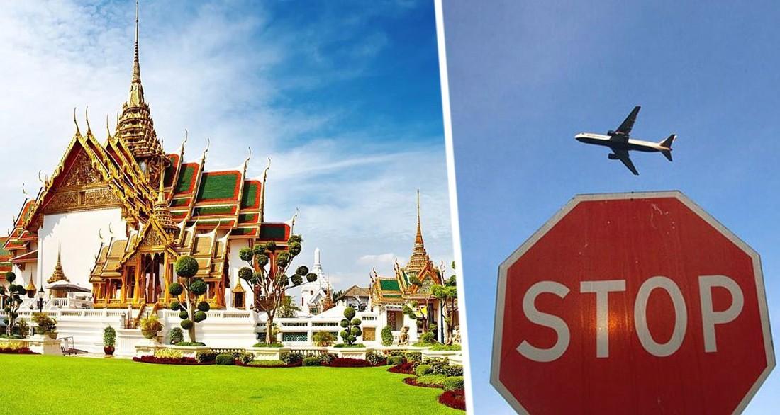 Таиланд опять решил отменить открытие для иностранных туристов