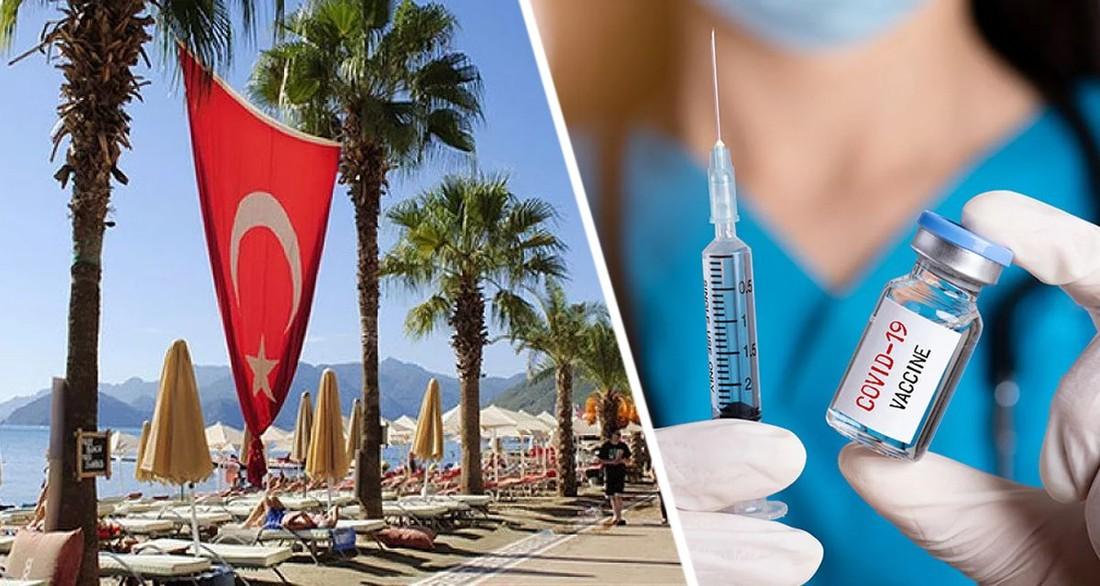 Турция прекратила допуск туристов, привитых определенной вакциной