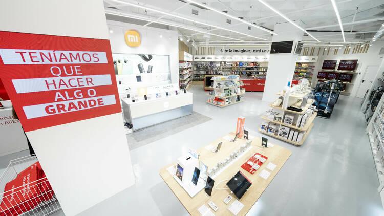 Компания AliExpress открыла новый магазин в Мадриде