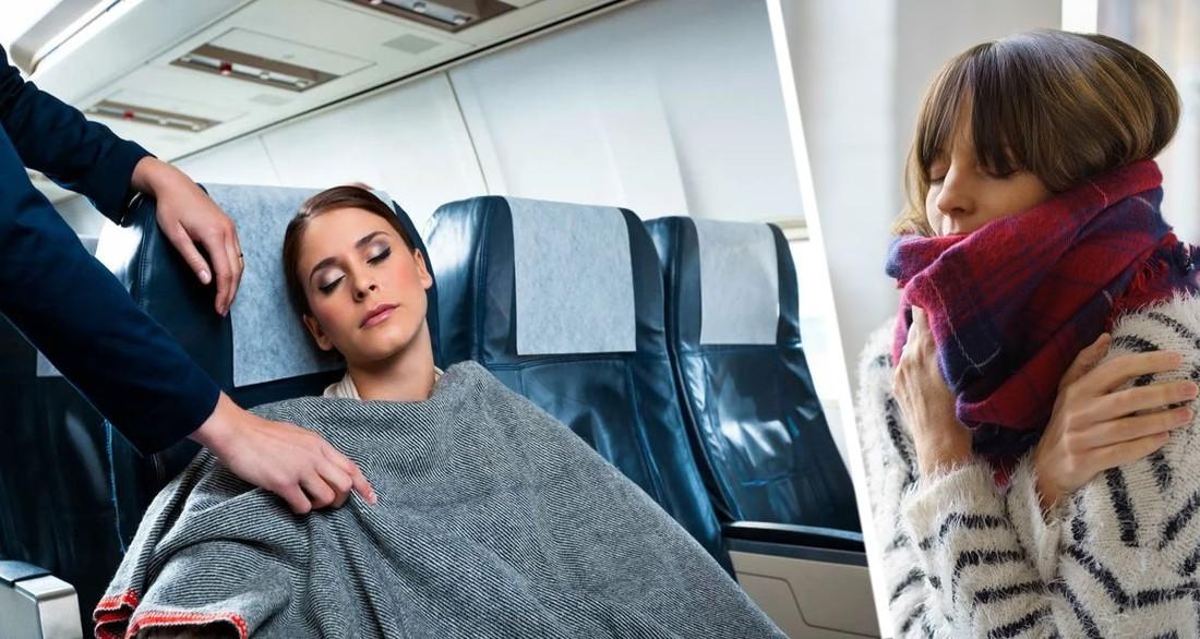 Стало известно, почему в самолётах так холодно во время полёта