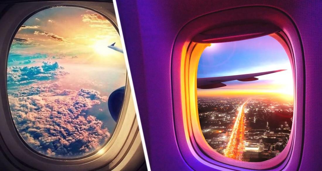 Стала известна реальная причина, почему окна в самолётах круглые, а не квадратные