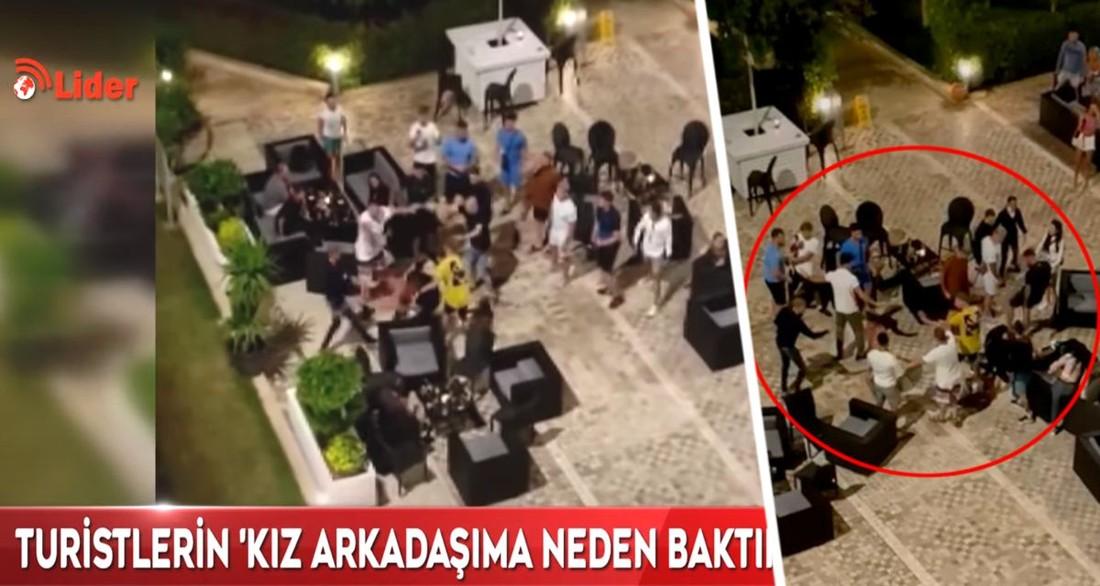 В Турции в отеле произошла массовая драка между российскими и британскими туристами. ВИДЕО