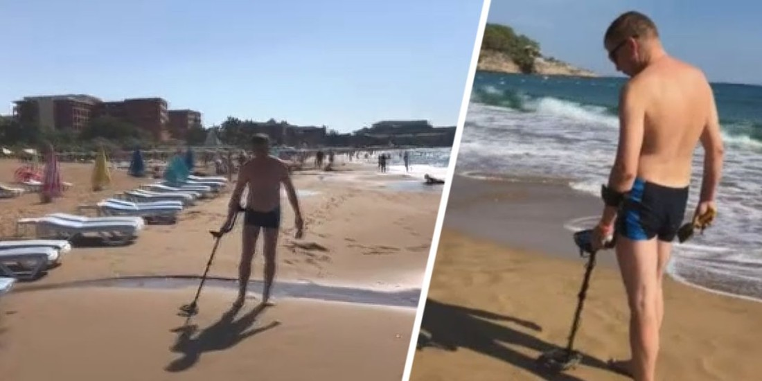 На пляжах Турции начали замечать российских туристов с металлоискателями