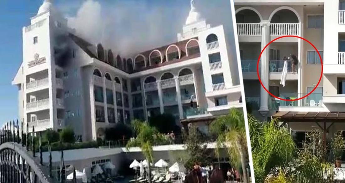 Началась паника, туристы спускались на простынях: в Турции раскрыли подробности пожара в 5-звездочном отеле Анталии