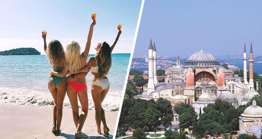 Кого в Турции больше: турки опубликовали долю туристов разных стран